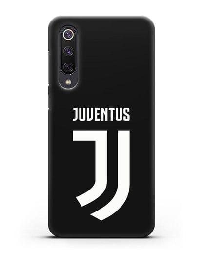 Чехол с логотипом и надписью Juventus силикон черный для Xiaomi Mi 9 SE