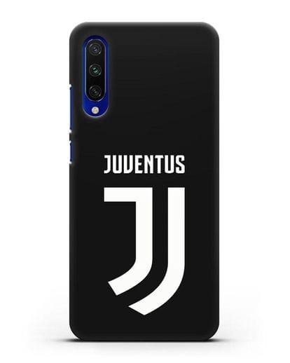 Чехол с логотипом и надписью Juventus силикон черный для Xiaomi Mi CC9 E