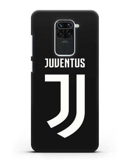 Чехол с логотипом и надписью Juventus силикон черный для Xiaomi Redmi 10X