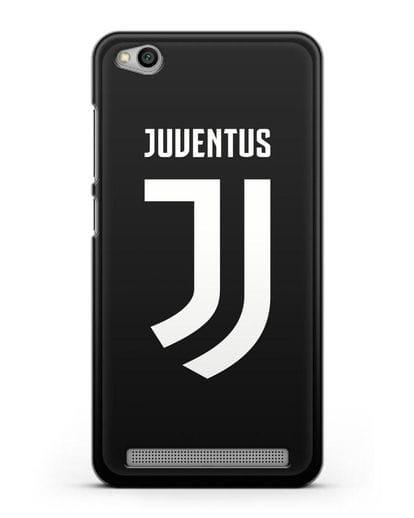 Чехол с логотипом и надписью Juventus силикон черный для Xiaomi Redmi 5A