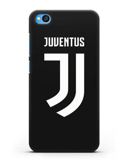 Чехол с логотипом и надписью Juventus силикон черный для Xiaomi Redmi Go