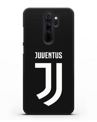 Чехол с логотипом и надписью Juventus силикон черный для Xiaomi Redmi Note 8 Pro