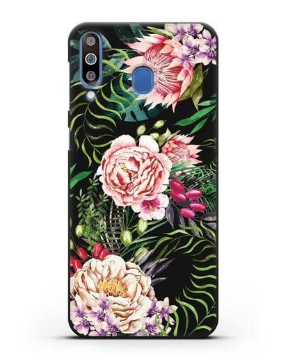 Чехол Протея силикон черный для Samsung Galaxy M30 [SM-M305F]