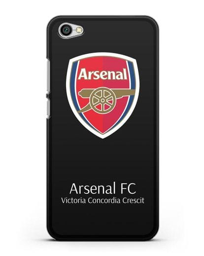 Чехол с логотипом ФК Арсенал Лондон силикон черный для Xiaomi Redmi Note 5A