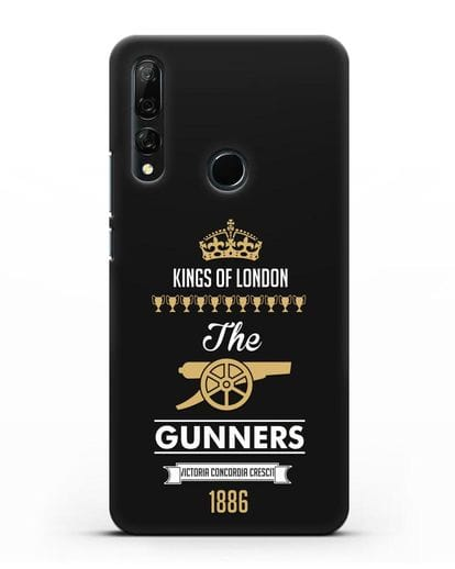 Чехол Arsenal The Gunners. Kings of London силикон черный для Honor 9X