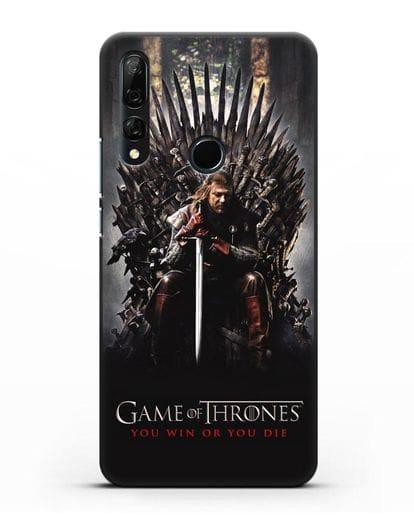 Чехол с картинкой Железный трон. Игра престолов силикон черный для Honor 9X