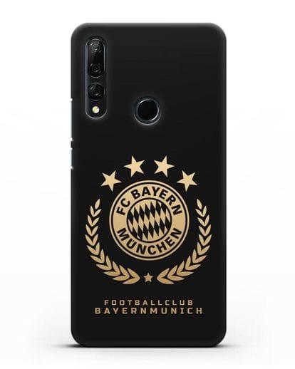 Чехол ФК Бавария Мюнхен с логотипом силикон черный для Honor 9X