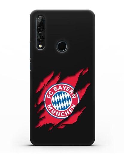 Чехол с эмблемой Бавария Мюнхен силикон черный для Honor 9X