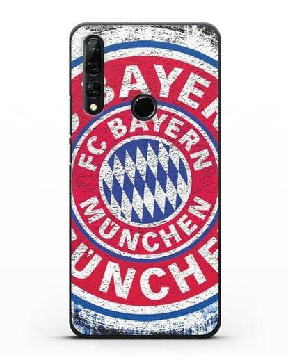 Чехол с символикой Bayern Munchen силикон черный для Honor 9X