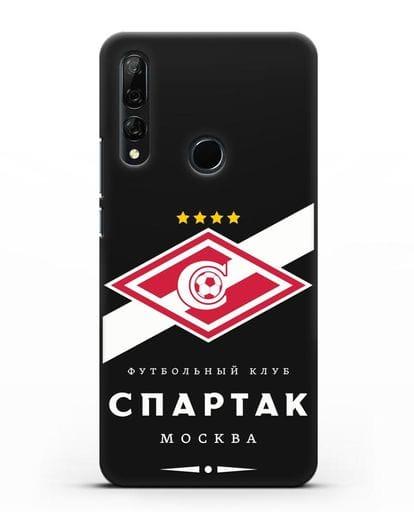 Чехол с логотипом ФК Спартак Москва силикон черный для Honor 9X