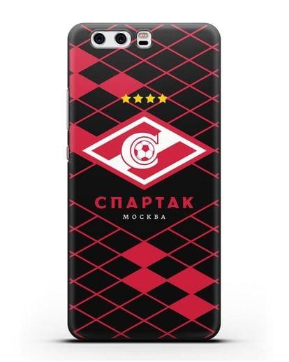 Чехол с эмблемой ФК Спартак Москва силикон черный для Huawei P10 Plus