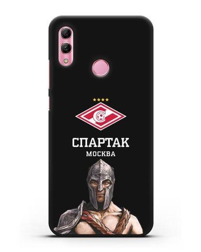 Чехол ФК Спартак Москва Гладиатор силикон черный для Honor 10 Lite