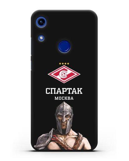 Чехол ФК Спартак Москва Гладиатор силикон черный для Honor 8A
