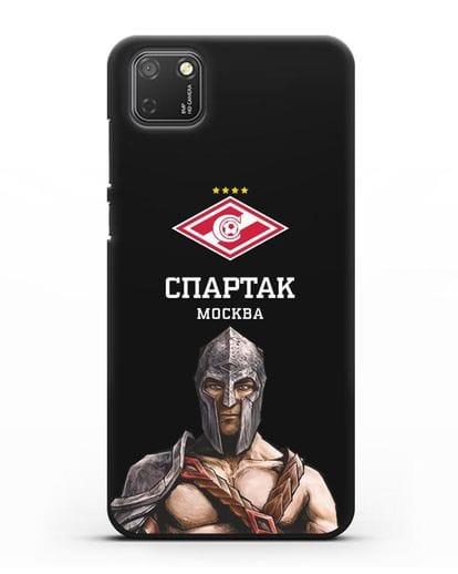 Чехол ФК Спартак Москва Гладиатор силикон черный для Honor 9S