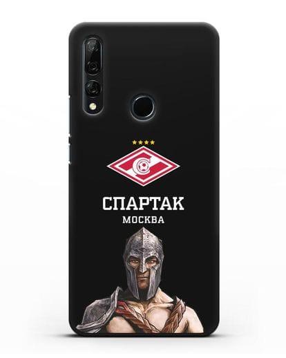 Чехол ФК Спартак Москва Гладиатор силикон черный для Honor 9X