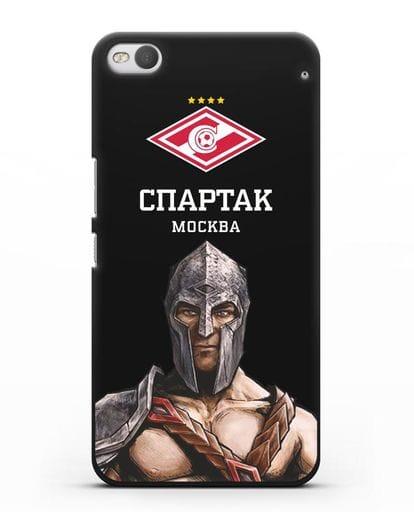 Чехол ФК Спартак Москва Гладиатор силикон черный для HTC One X9
