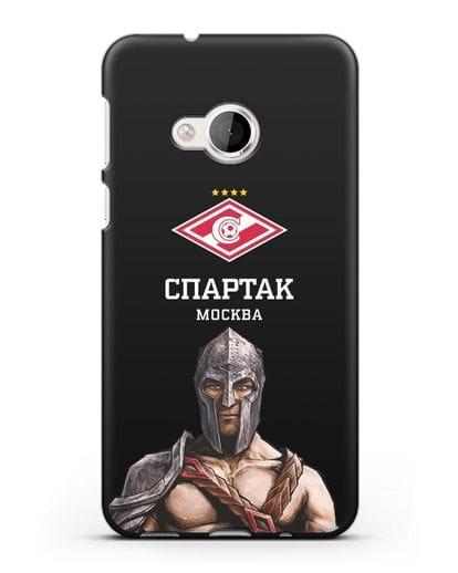 Чехол ФК Спартак Москва Гладиатор силикон черный для HTC U Play
