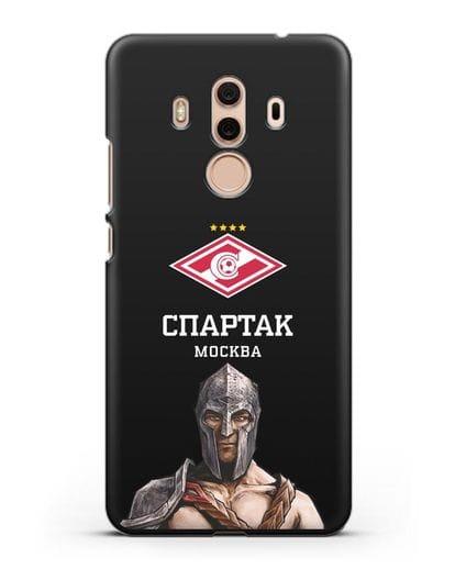 Чехол ФК Спартак Москва Гладиатор силикон черный для Huawei Mate 10 Pro