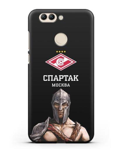 Чехол ФК Спартак Москва Гладиатор силикон черный для Huawei Nova 2 Plus