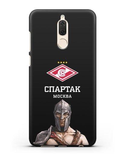 Чехол ФК Спартак Москва Гладиатор силикон черный для Huawei Nova 2