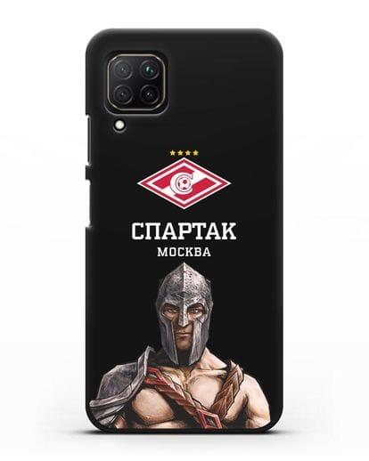 Чехол ФК Спартак Москва Гладиатор силикон черный для Huawei Nova 7i