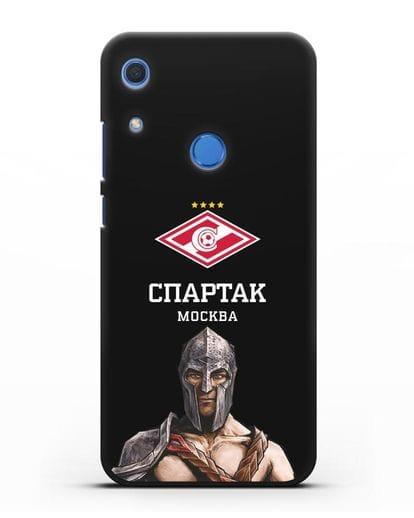 Чехол ФК Спартак Москва Гладиатор силикон черный для Huawei Y6s