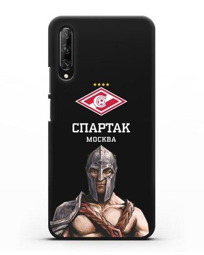 Чехол ФК Спартак Москва Гладиатор силикон черный для Huawei Y9s