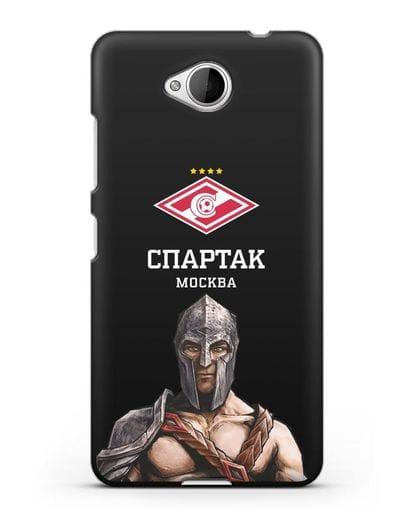 Чехол ФК Спартак Москва Гладиатор силикон черный для Microsoft Lumia 650