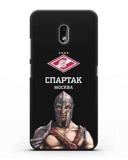 Чехол ФК Спартак Москва Гладиатор силикон черный для Nokia 2.2 2019