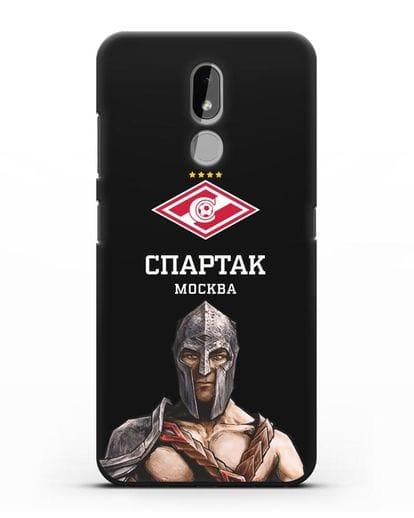Чехол ФК Спартак Москва Гладиатор силикон черный для Nokia 3.2 2019