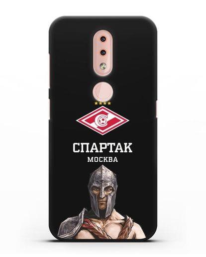 Чехол ФК Спартак Москва Гладиатор силикон черный для Nokia 4.2 2019