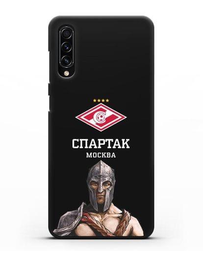 Чехол ФК Спартак Москва Гладиатор силикон черный для Samsung Galaxy A70s [SM-A707F]