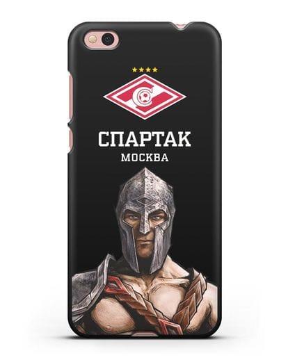 Чехол ФК Спартак Москва Гладиатор силикон черный для Xiaomi Mi 5С
