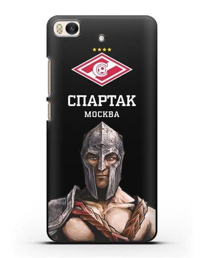 Чехол ФК Спартак Москва Гладиатор силикон черный для Xiaomi Mi 5S