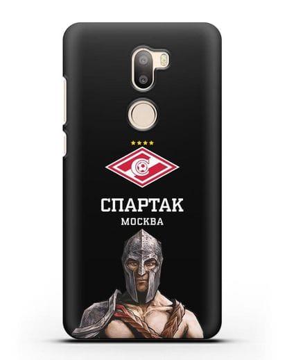 Чехол ФК Спартак Москва Гладиатор силикон черный для Xiaomi Mi 5S Plus