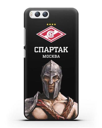 Чехол ФК Спартак Москва Гладиатор силикон черный для Xiaomi Mi 6