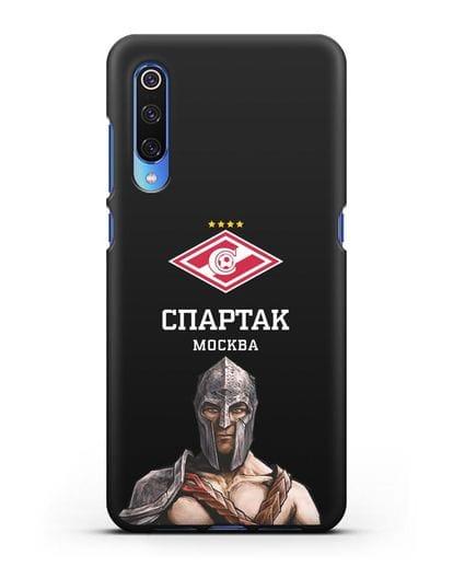 Чехол ФК Спартак Москва Гладиатор силикон черный для Xiaomi Mi 9