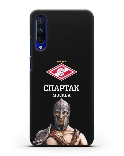 Чехол ФК Спартак Москва Гладиатор силикон черный для Xiaomi Mi CC9 E