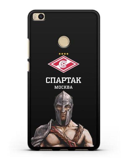 Чехол ФК Спартак Москва Гладиатор силикон черный для Xiaomi Mi Max 2