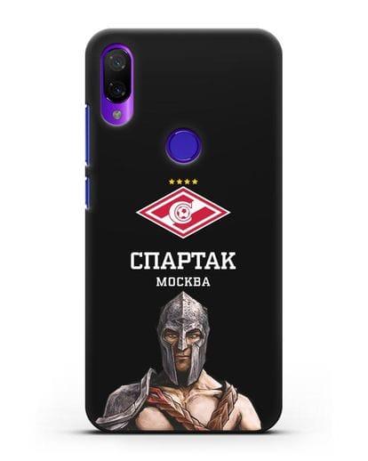 Чехол ФК Спартак Москва Гладиатор силикон черный для Xiaomi Mi Play
