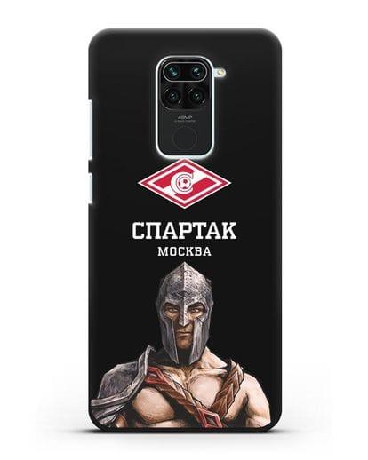 Чехол ФК Спартак Москва Гладиатор силикон черный для Xiaomi Redmi 10X