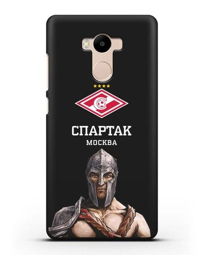 Чехол ФК Спартак Москва Гладиатор силикон черный для Xiaomi Redmi 4 Pro