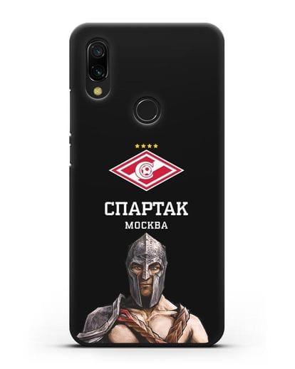 Чехол ФК Спартак Москва Гладиатор силикон черный для Xiaomi Redmi 7