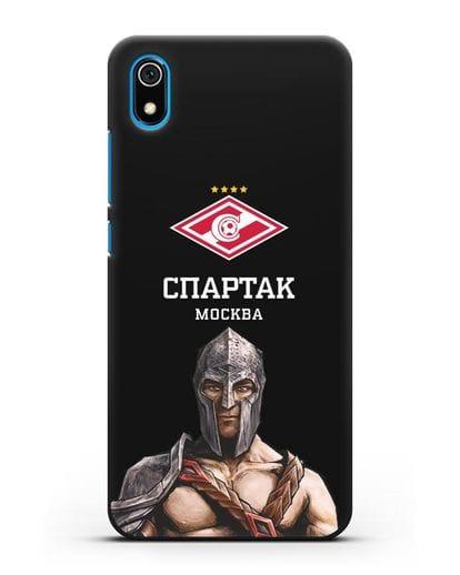 Чехол ФК Спартак Москва Гладиатор силикон черный для Xiaomi Redmi 7A
