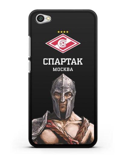 Чехол ФК Спартак Москва Гладиатор силикон черный для Xiaomi Redmi Note 5A