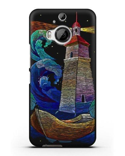 Чехол Маяк силикон черный для HTC One M9 Plus
