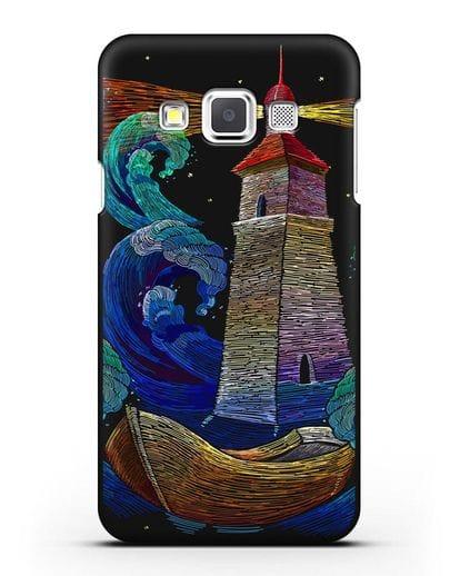 Чехол Маяк силикон черный для Samsung Galaxy A3 2015 [SM-A300F]