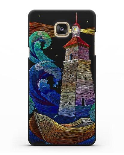 Чехол Маяк силикон черный для Samsung Galaxy A5 2016 [SM-A510F]