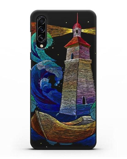 Чехол Маяк силикон черный для Samsung Galaxy A70s [SM-A707F]
