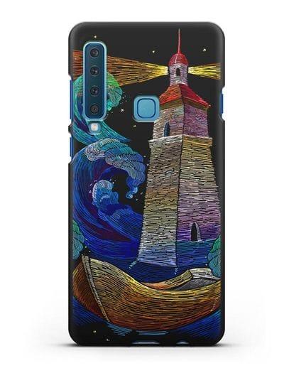 Чехол Маяк силикон черный для Samsung Galaxy A9 (2018) [SM-A920]